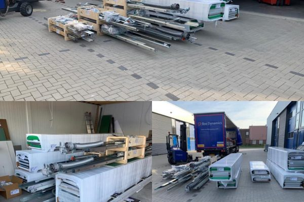 Nieuwe materialen voor het maken van roldeuren